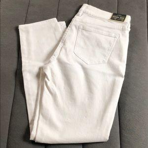 J Crew white jeans size 26